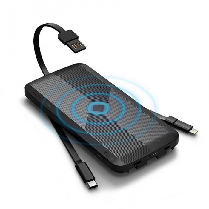 Внешний беспроводной аккумулятор iWalk Scorpion Air 8000mAh черный