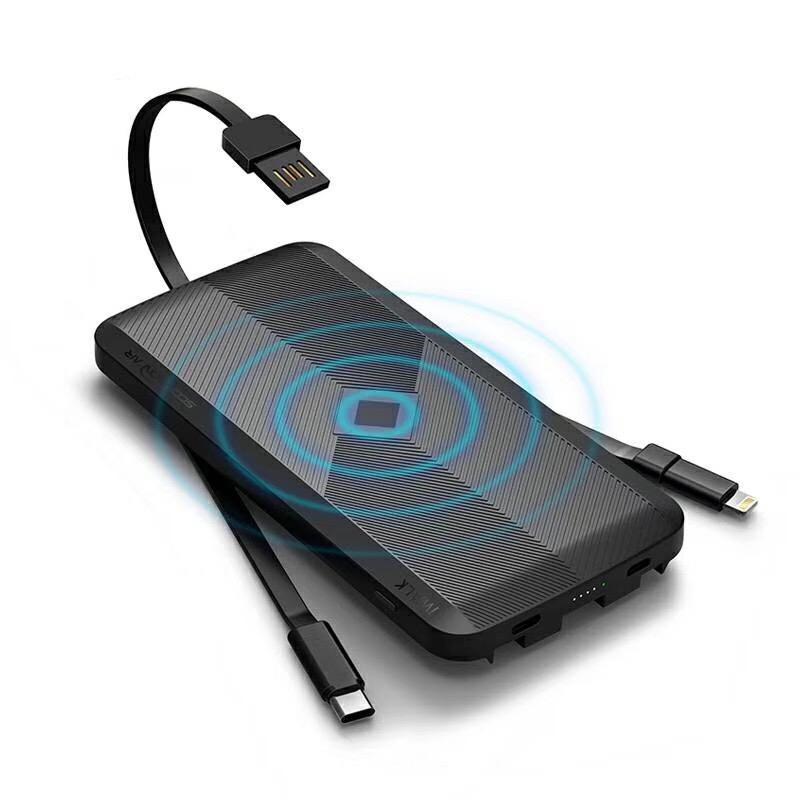 Внешний беспроводной аккумулятор iWalk Scorpion Air 12000mAh черный