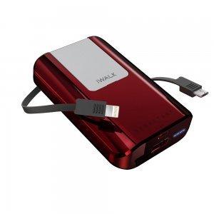 Внешний аккумулятор iWalk Secretary Plus 10,000mAh красный