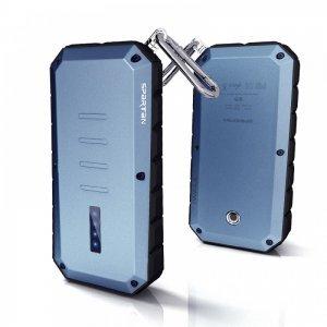 Внешний аккумулятор IWALK Extreme Spartan 13000 mAh, 2 USB, 2.4A/1.0A синий (уценка)