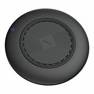 Беспроводное зарядное устройство iWalk (ADS009) черное