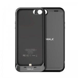 Чехол-аккумулятор iWalk Chameleon Racer 2000мАч, серый для iPhone 5/5S/SE