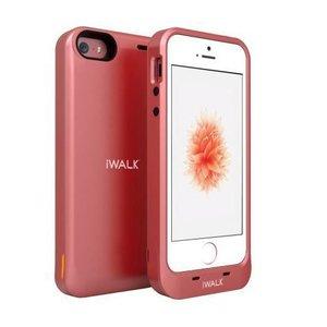 Дополнительный аккумулятор для Apple iPhone 5/5S/SE - iWalk Chameleon Racer 2000мАч розовый