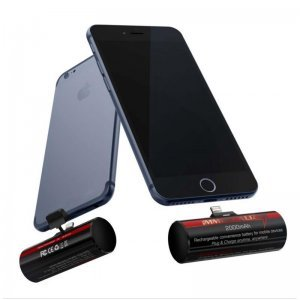 Внешний аккумулятор iWalk Immortalizer 2000mAh, черный для Apple iPhone 5/5S/SE/6/6S/6 Plus/6S Plus/7/7 Plus