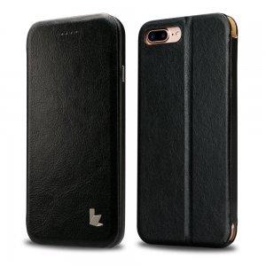 Чехол-книжка Jisoncase черный Stand Folio для iPhone 8 Plus/7 Plus
