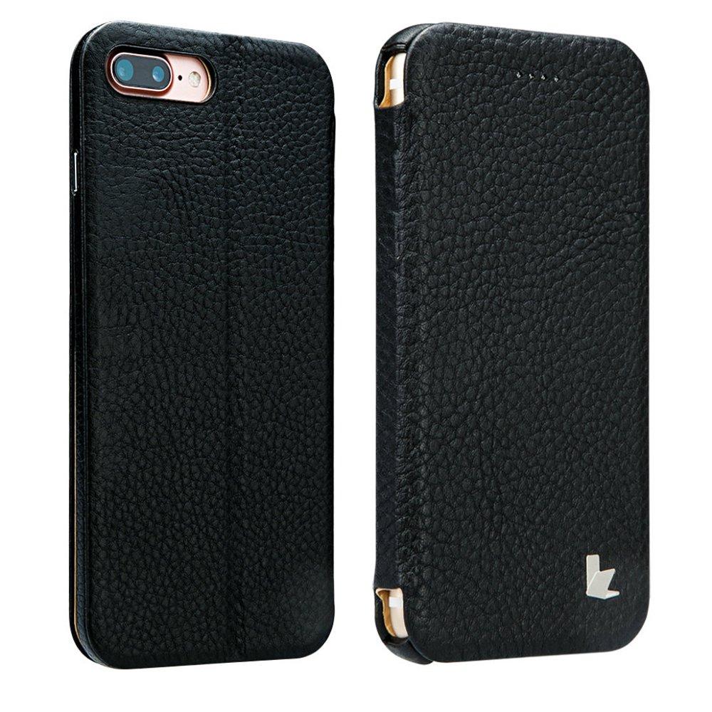 Чехол Jisoncase Genuin черный для iPhone 8 Plus/7 Plus