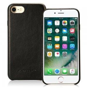 Кожаный чехол Jisoncase Vintage Genuine handmade черный для iPhone 8 Plus/7 Plus