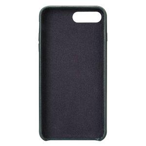 Кожаный чехол Jisoncase Vintage Genuine handmade синий для iPhone 8 Plus/7 Plus