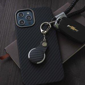 Чехол-брелок JRL Aramid Case черный для AirTag