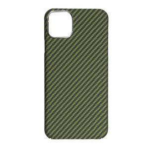 Чехол K-DOO Kevlar зелёный для iPhone 12 Pro Max