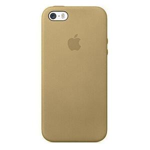 Чехол золотой для iPhone SE/5/5S