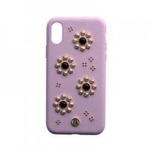Чехол с рисунком Luna Aristo Orbita Coral розовый для iPhone X