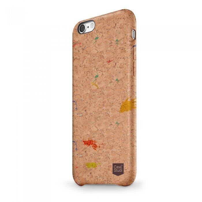 Деревянный чехол CaseStudi Corkwood Mix разноцветный для iPhone 8/7