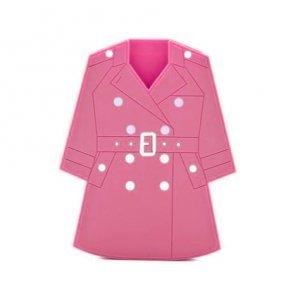Чехол-накладка для Apple iPhone 5/5S - Moschino Cloak розовый