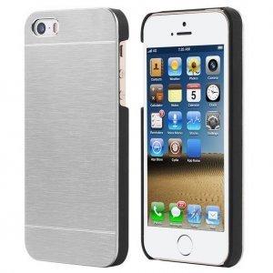 Металлический чехол Motomo серебристый для iPhone 4/4S