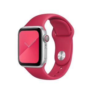 Ремешок Coteetci W3 винный красный для Apple Watch 38/40 мм