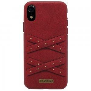 Чехол Polo Abbott красный для iPhone XR