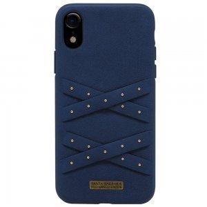 Чехол Polo Abbott синий для iPhone XR