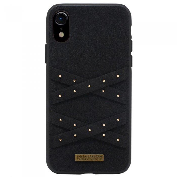 Чехол Polo Abbott чёрный для iPhone XR