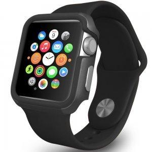Чехол Ozaki O!coat-Shockband черный для Apple Watch 38мм