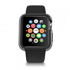 Чехол Ozaki O!coat-Shockband черный для Apple Watch 42мм