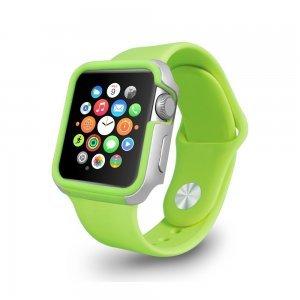 Чехол Ozaki O!coat-Shockband зеленый для Apple Watch 38мм