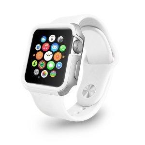 Чехол Ozaki O!coat-Shockband белый для Apple Watch 42мм