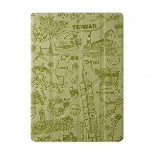 Чехол-книжка для iPad Air/Air 2 - Ozaki O!coat Travel Taipei зелёный