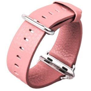 Ремешок для Apple Watch 38мм - Coteetci W1 розовый
