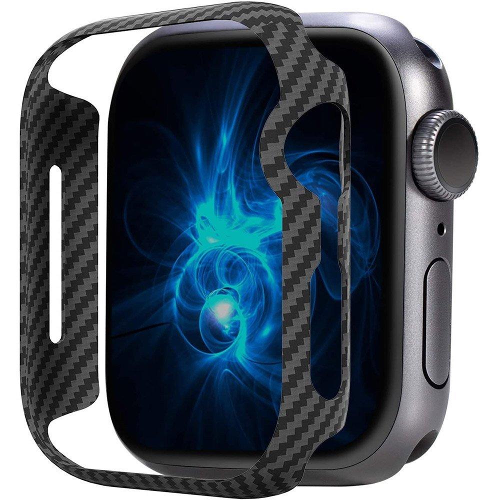 Чехол Pitaka Air черный+серый для Apple Watch 44mm