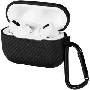 Чехол Pitaka AirPal Mini черный+серый для Airpods Pro