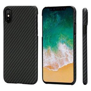 Чехол Pitaka MagEZ черный+серый для iPhone XS/X
