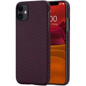 Чехол Pitaka MagEZ черный+красный для iPhone 11
