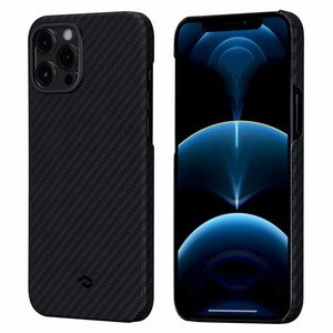 Pitaka MagEZ Case Twill Black/Grey for iPhone 12 Pro Max (KI1201PM)