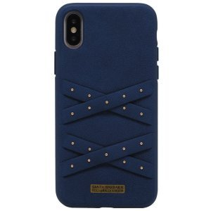 Чехол Polo Abbott синий для iPhone X/XS