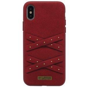 Чехол Polo Abbott красный для iPhone X/XS