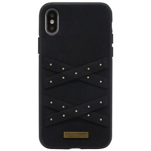 Чехол Polo Abbott чёрный для iPhone X/XS
