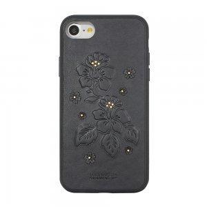 Кожаный чехол Polo Azalea черный для iPhone 7/8/SE 2020