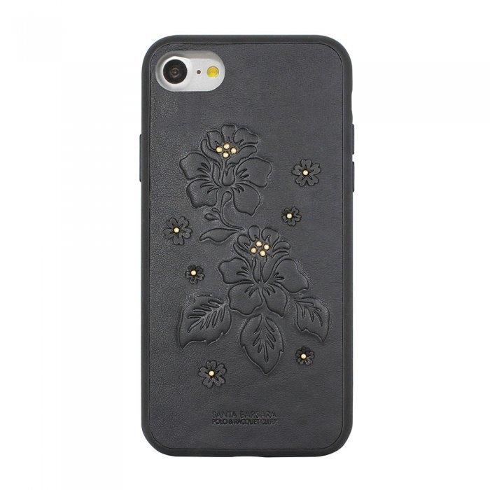 Кожаный чехол Polo Azalea черный для iPhone 7/8