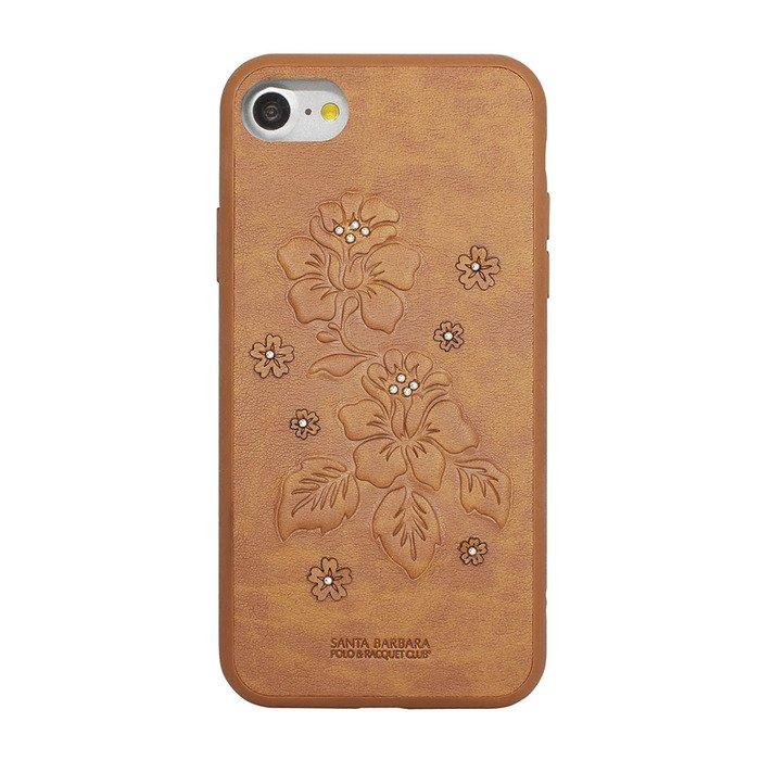 Кожаный чехол Polo Azalea коричневый для iPhone 7/8