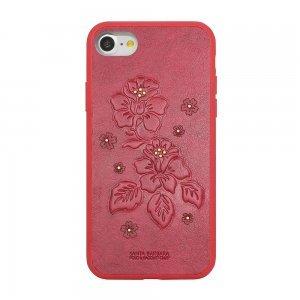 Кожаный чехол Polo Azalea красный для iPhone 7/8/SE 2020