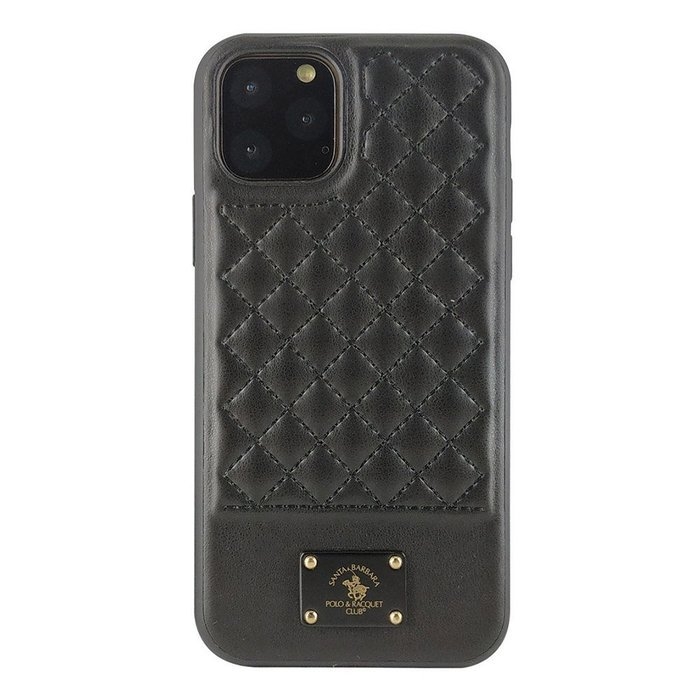 Чехол Polo Bradley черный для iPhone 11