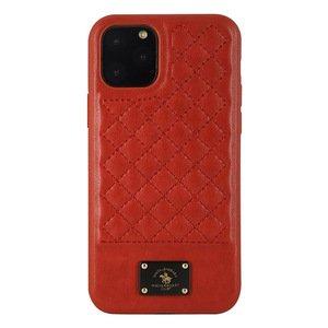 Чехол Polo Bradley красный для iPhone 11 Pro