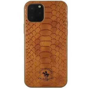 Чехол Polo Knight коричневый для iPhone 11 Pro Max