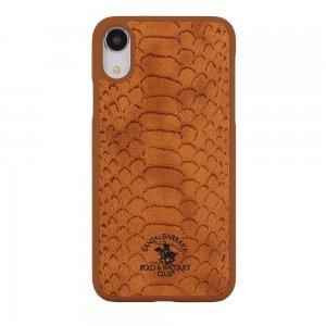 Чехол Polo Knight коричневый для iPhone XR