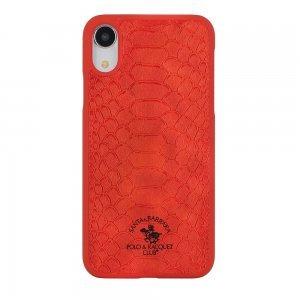 Чехол Polo Knight красный для iPhone XR
