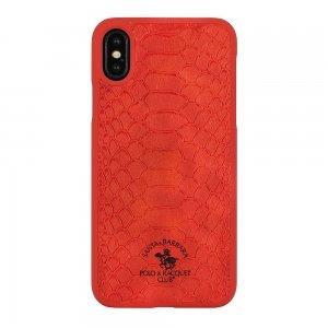 Чехол Polo Knight красный для iPhone XS Max