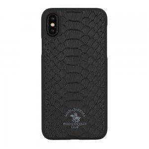Чехол Polo Knight чёрный для iPhone XS Max