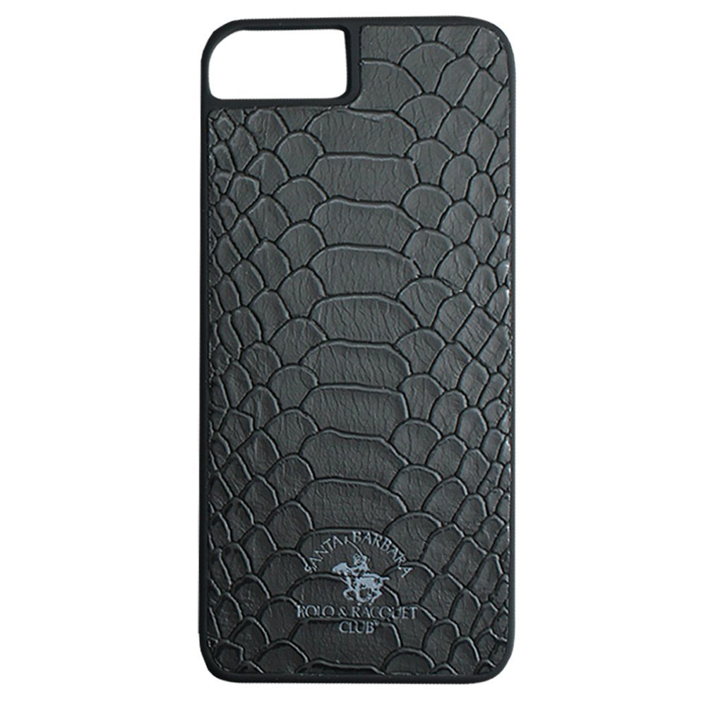 Кожаный чехол Polo Knight черный для iPhone 8 Plus/7 Plus