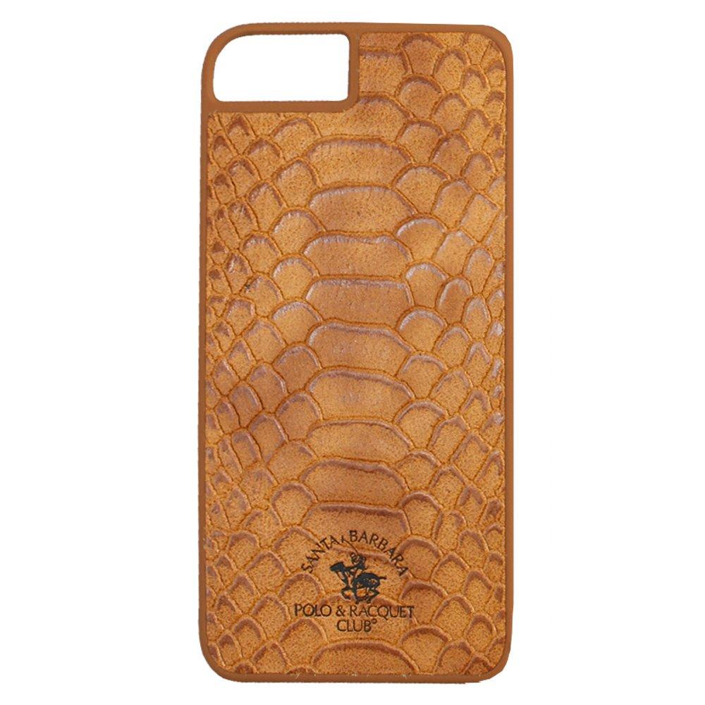 Кожаный чехол Polo Knight коричневый для iPhone 8/7/SE 2020